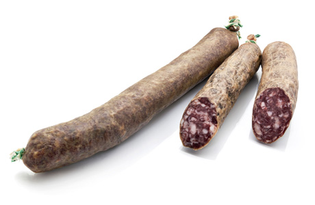 Capa Negra Spicy Salchichon Sausage